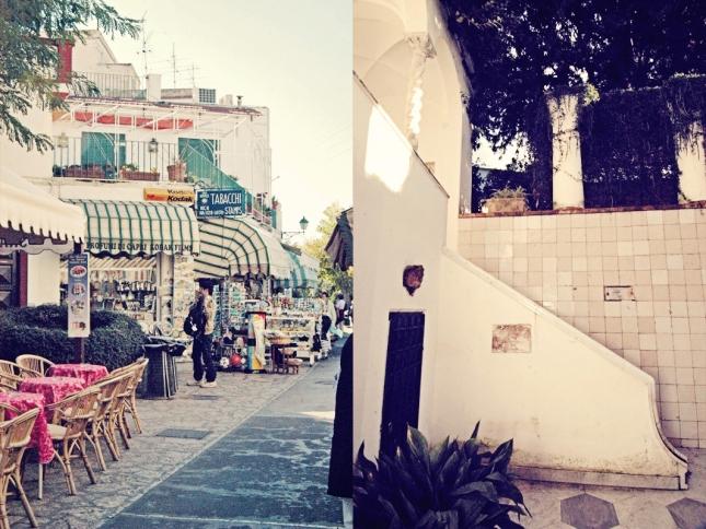 ana capri and villa san michele